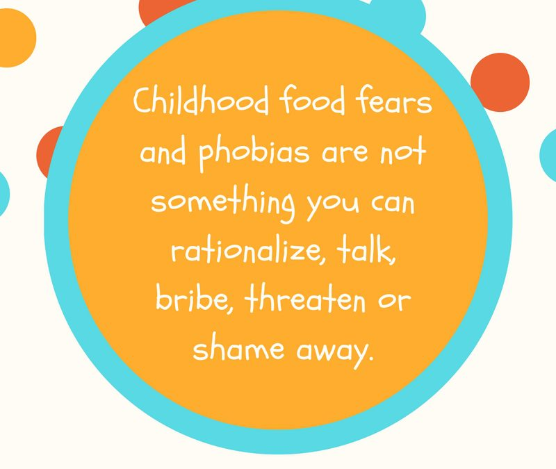 Childhood Fears: Food or Fluffy, the Fear is Real